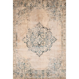United Weavers Of America Marrakesh 2 X 3 Multi Indoor Distressed Overdyed Oriental Area Rug In The Rugs Department At Lowes Com