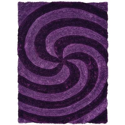 United Weavers Of America Finesse Violet Indoor Area Rug ...