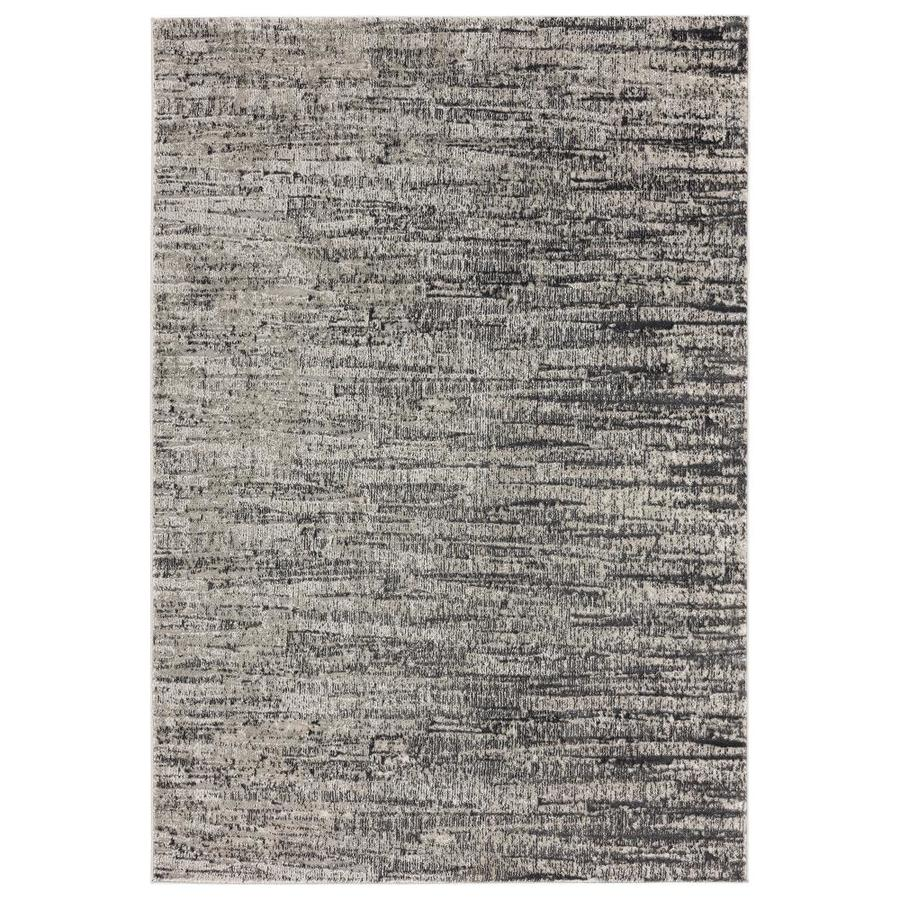 United Weavers Of America Veronica Ives Grey 7 Ft 10 In X 10 Ft 6 In Area Rug In The Rugs Department At Lowes Com