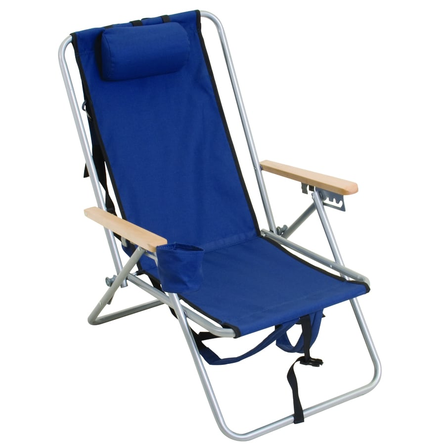 Rio Brands 1 Indoor Outdoor Steel Beach Folding Chair