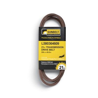 Genuine Husqvarna 580364609 AWD Drive Belt 21EFF Fits Craftsman Poulan OEM