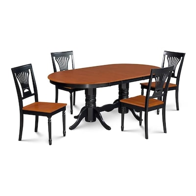 Cool Md Furniture Somerville Black Cherry Dining Set With Oval Cjindustries Chair Design For Home Cjindustriesco