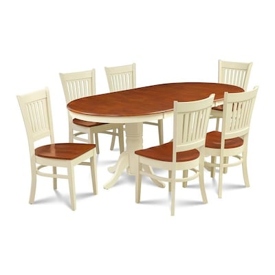 Remarkable Md Furniture Somerville Buttermilk Cherry Dining Set With Theyellowbook Wood Chair Design Ideas Theyellowbookinfo