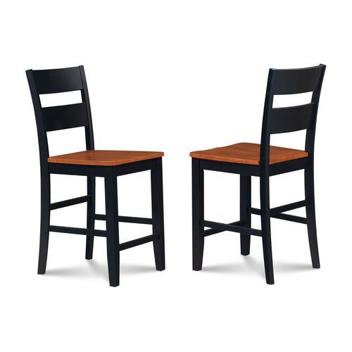 Cool Md Furniture Sunderland Set Of 2 Black Cherry Counter Stool At Lowes Com Evergreenethics Interior Chair Design Evergreenethicsorg