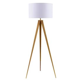 Ore International Ester 64 In Matte Gold Tripod Floor Lamp In The Floor Lamps Department At Lowes Com