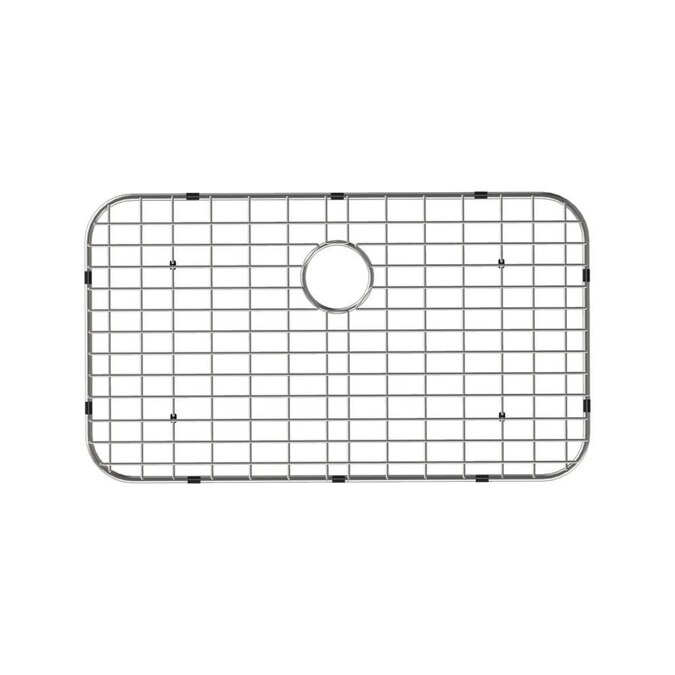 Swiss Madison 18 In X 14 In Stainless Steel Sink Grid In The Sink Grids Mats Department At Lowes Com