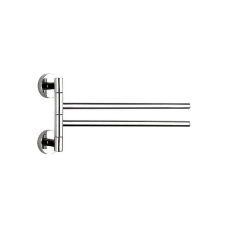 Nameeks General Hotel 14 In Chrome Wall Mount Single Towel Bar In The Towel Bars Department At Lowes Com