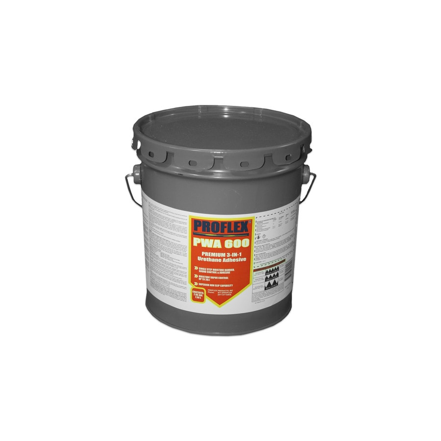 PROFLEX Trowel Yellow Flooring Adhesive (2-Gallon)