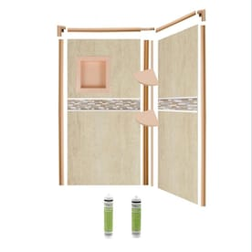 shower wall surrounds at lowes