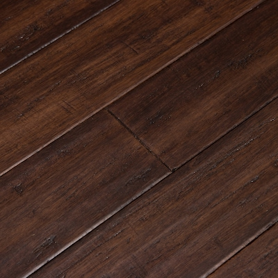 Fossilized 3 75 In Bordeaux Bamboo Solid Hardwood Flooring 22 69 Sq Ft