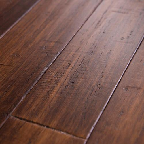 Cali Bamboo Fossilized 3 75 In Bordeaux Bamboo Solid Hardwood
