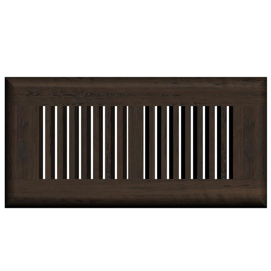 Cali Bamboo Fossilized Bordeaux Wood Floor Register Duct