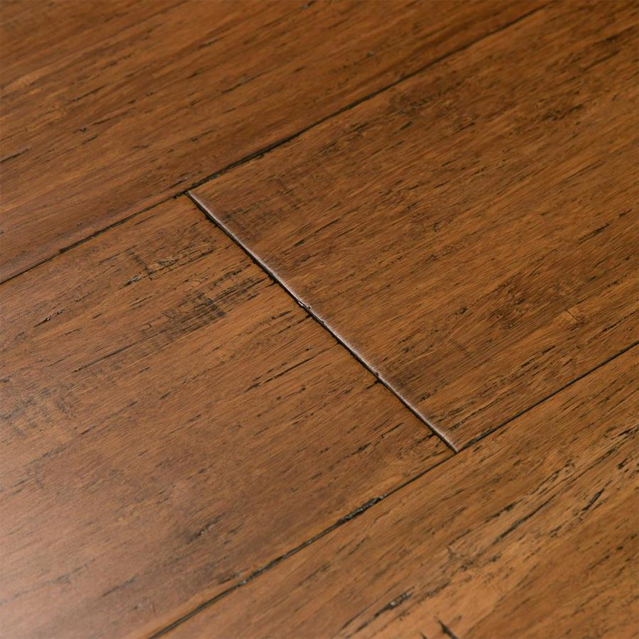 Engineered Bamboo Wood Flooring: Cali Bamboo Fossilized 5.31-in Antique Java Bamboo