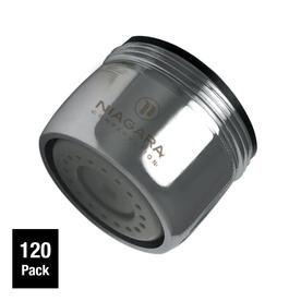 Faucet Aerator With On Off Switch. Niagara Conservation 120 Pack 15 16 in x 27  55 Shop Faucet Aerators at Lowes com
