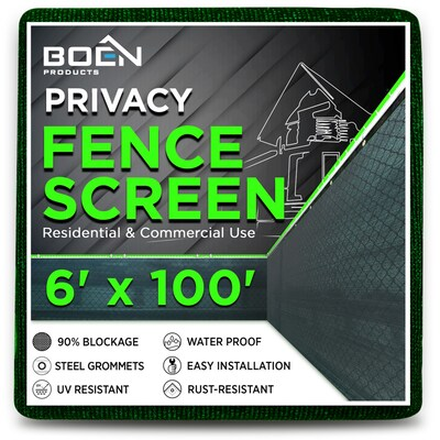 Boen Fits Common Fence Height 6 Ft Actual 100 X Green