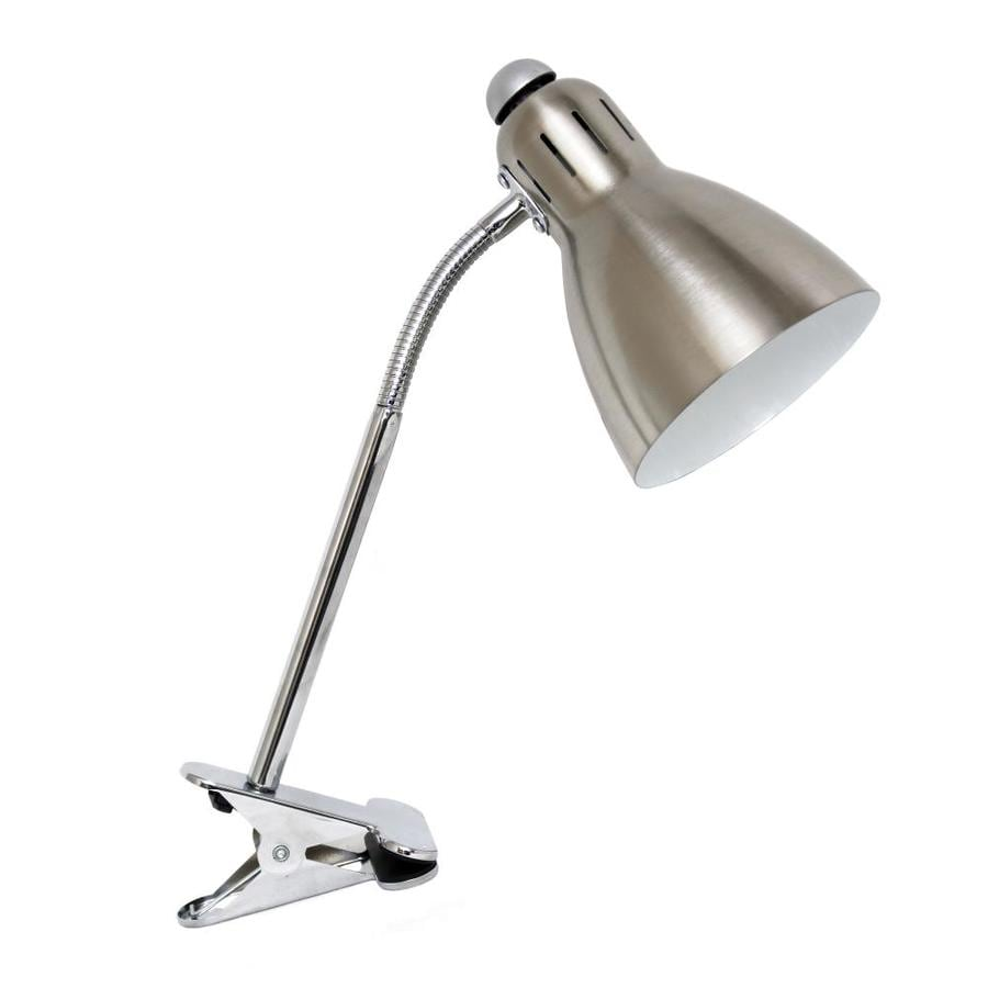 Simple Designs 1417 In Adjustable Desk Lamp With Metal Shade At