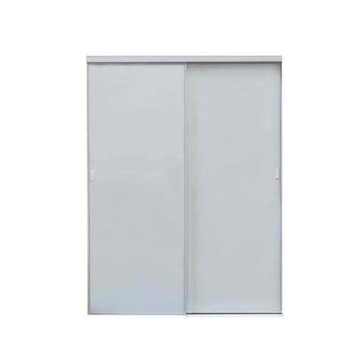 Reliabilt 9250 Series White Mirror Panel Aluminum Sliding