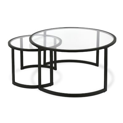 Strange Mitera Blackened Bronze Glass Coffee Table Creativecarmelina Interior Chair Design Creativecarmelinacom