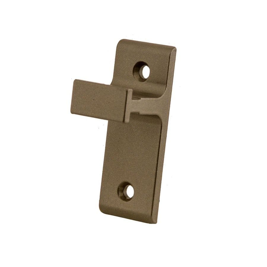 Quiet Glide 1-in Bronze Aluminum Side Mount Sliding Barn Door Kit