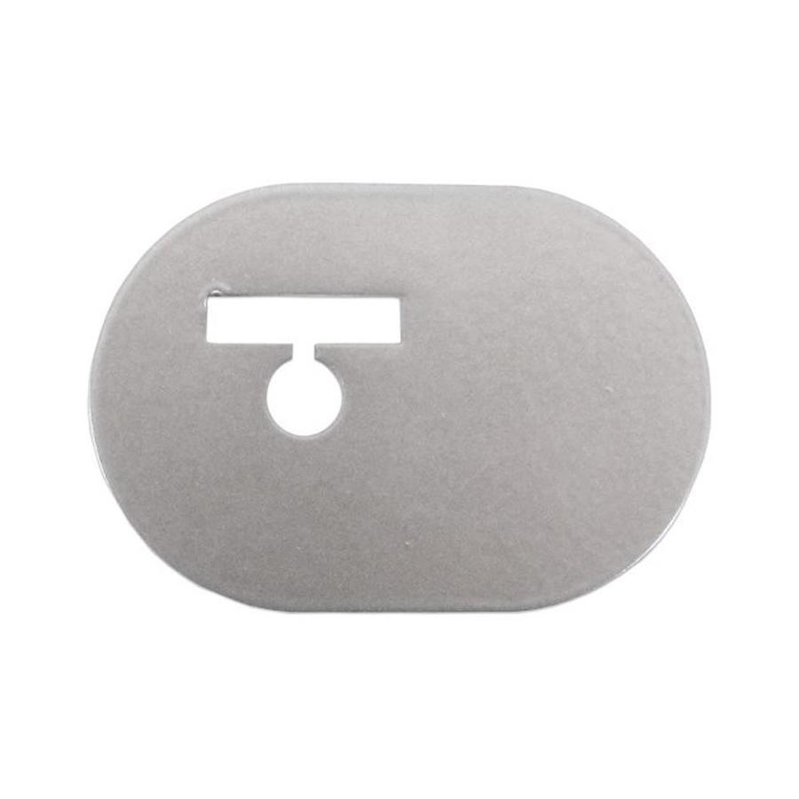 Quiet Glide 1.375-in Satin Nickel Aluminum Side Mount Sliding Barn Door Kit