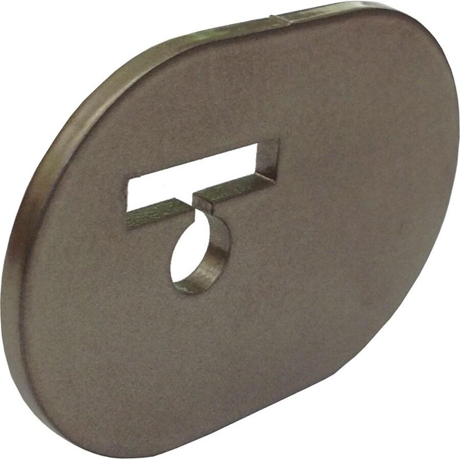 Quiet Glide 1.375-in Bronze Aluminum Side Mount Sliding Barn Door Kit
