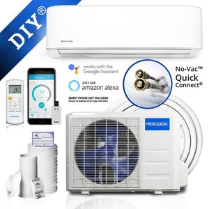 MRCOOL DIY 12,000 BTU Ductless Mini Split with Wireless