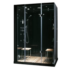 Charmant Northeastern Bath Black Steam Feature 11 Piece Steam Shower Kit (Common: 60