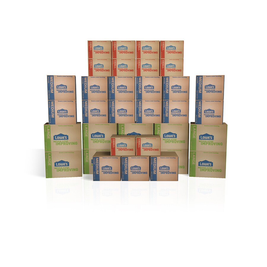 35-Pack Large Cardboard Kit (Actual 19.5-in x 19-in)