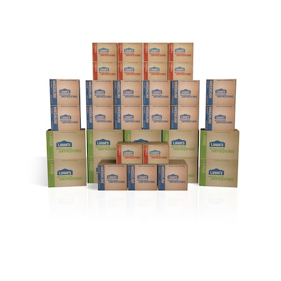 35-Pack Large Cardboard Moving Box Kit (Actual: 19 5-in x 19