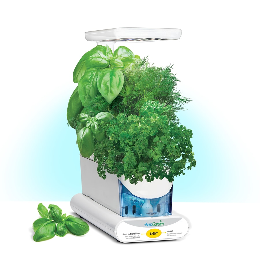 AeroGarden Sprout LED Hydroponic System (10-in Maximum Plant Growth Height)
