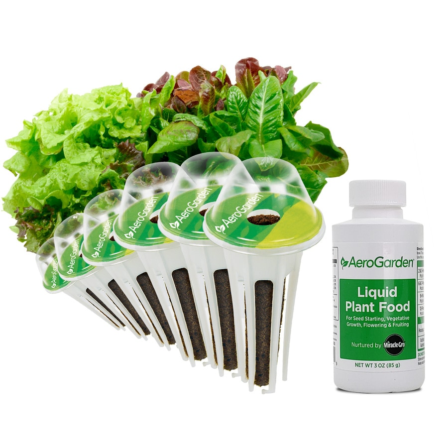 AeroGarden Salad Greens 6-Pod Seed Kit
