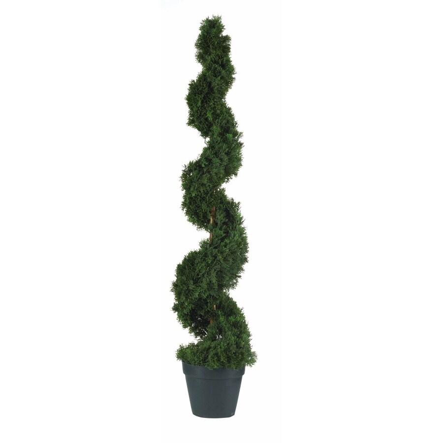 Nearly Natural 48-in Green Cedar