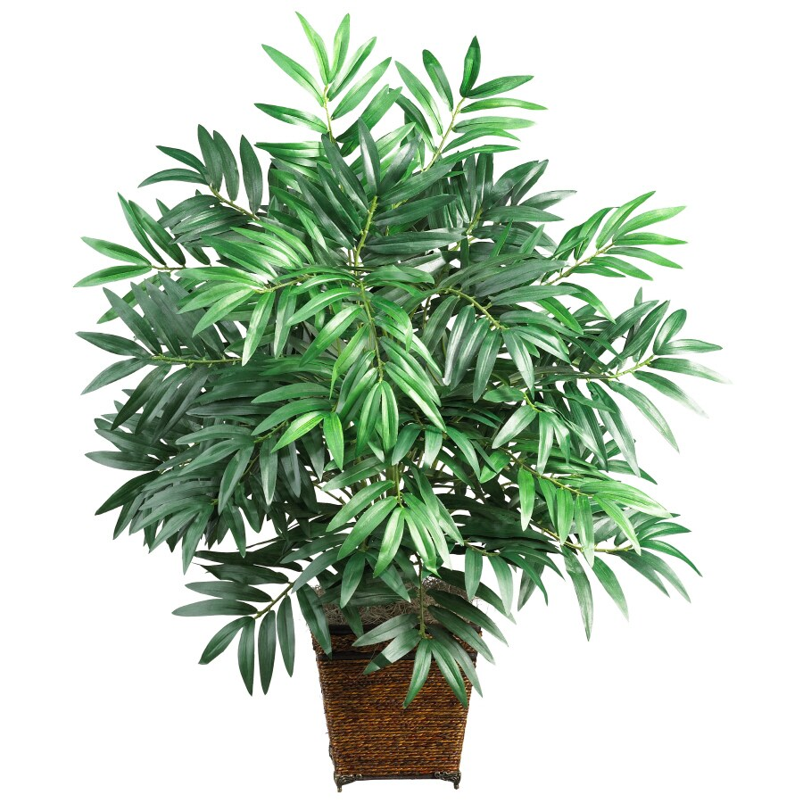 Nearly Natural 32-in Green Bamboo