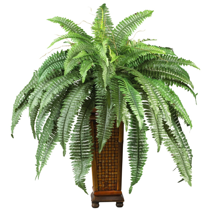 Nearly Natural 33-in Green Boston Fern