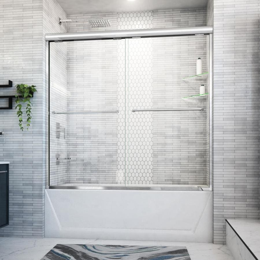 Arizona Shower Door Euro 56-in to 60-in Frameless Shower Door