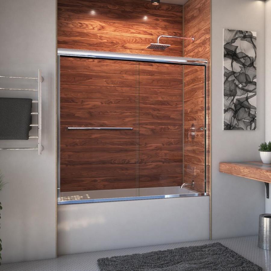 Arizona Shower Door Euro 68-in to 72-in Frameless Shower Door
