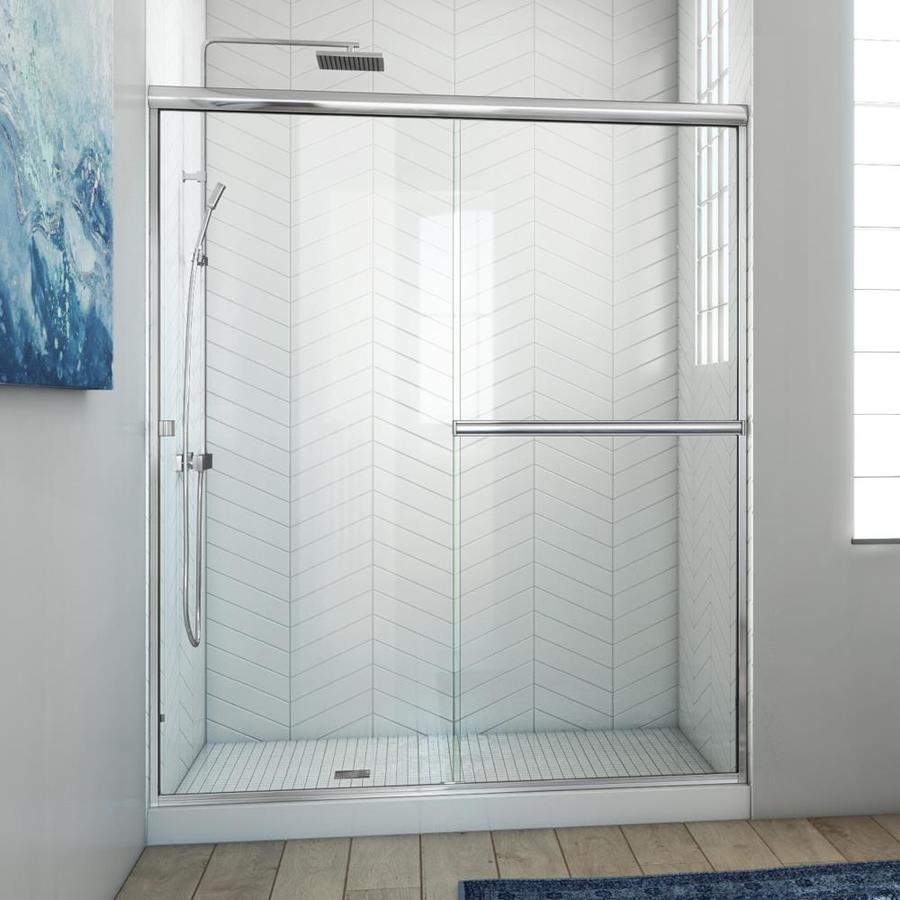 Shop Arizona Shower Door Lite Euro 53 In To 57 In W