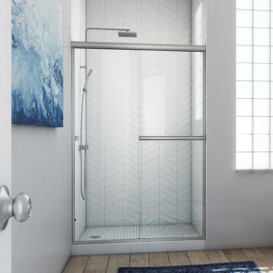Arizona Shower Door Lite Euro 50-in to 54-in Frameless Shower Door
