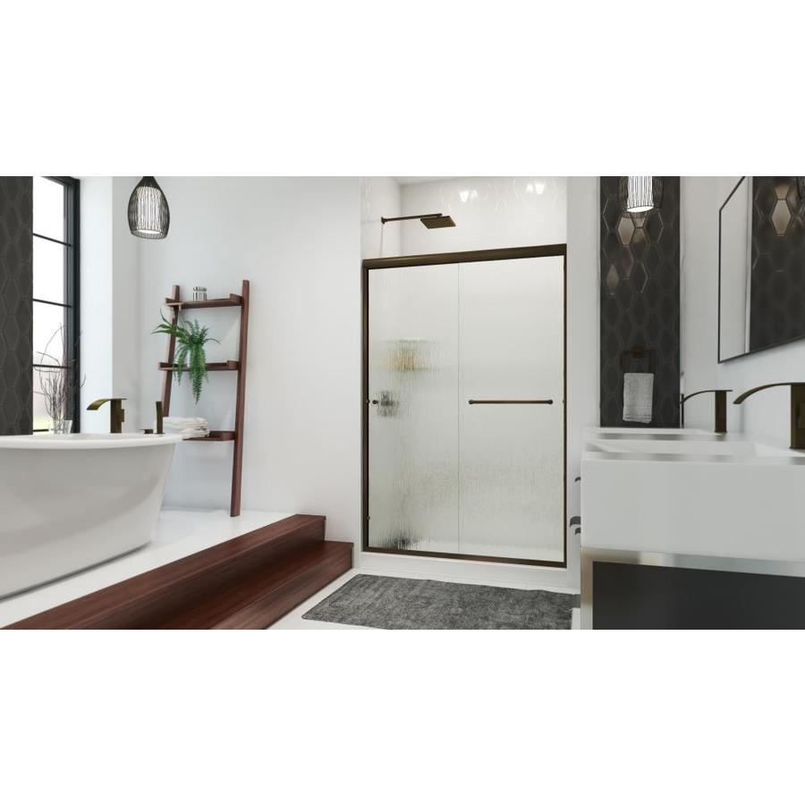 Arizona Shower Door Lite Euro 56-in to 60-in W x 70.375-in H Frameless Sliding Shower Door