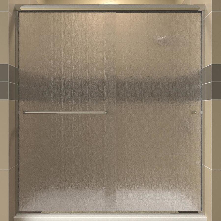 Arizona Shower Door Lite Euro 56-in to 60-in W x 62.375-in H Frameless Sliding Shower Door