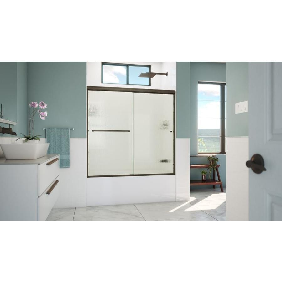 Shop Arizona Shower Door Lite Euro 56 In To 60 In W