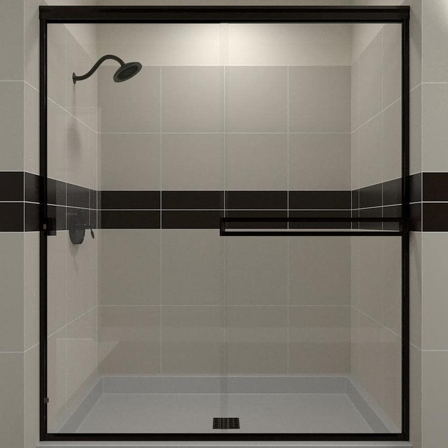 Arizona Shower Door Traditional 46 In To 47 In W Semi Frameless Oil