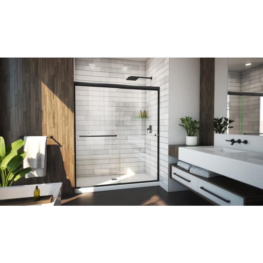 Arizona Shower Door Lite Euro 56-in to 60-in W Semi ...