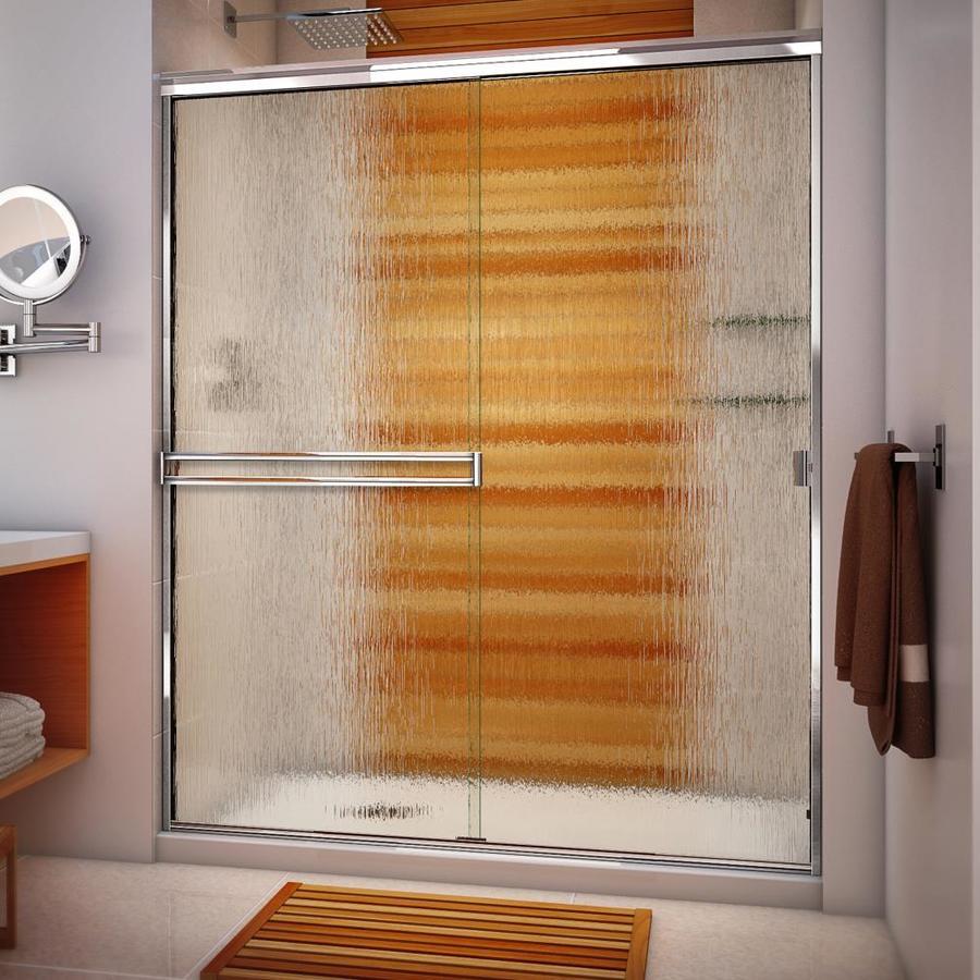 Arizona Shower Door Traditional 55 In To 59 In W Semi Frameless