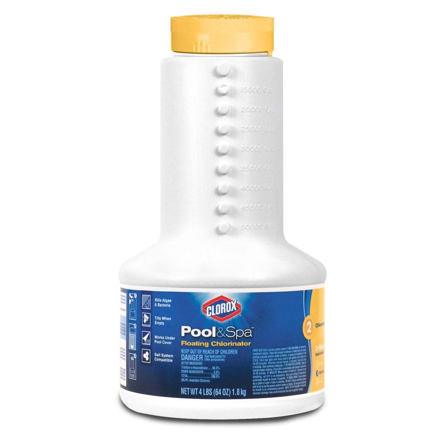 Clorox Poolu0026Spa 4 Lb Bucket 1 In Pool Chlorine Tabs