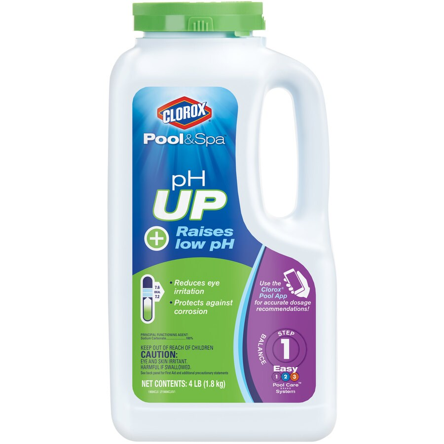 Clorox Pool&Spa 4-lb pH Up Pool Balancer