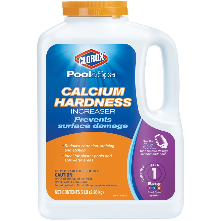 Clorox Pool Amp Spa 5 Lb Calcium Hardness Increaser Pool