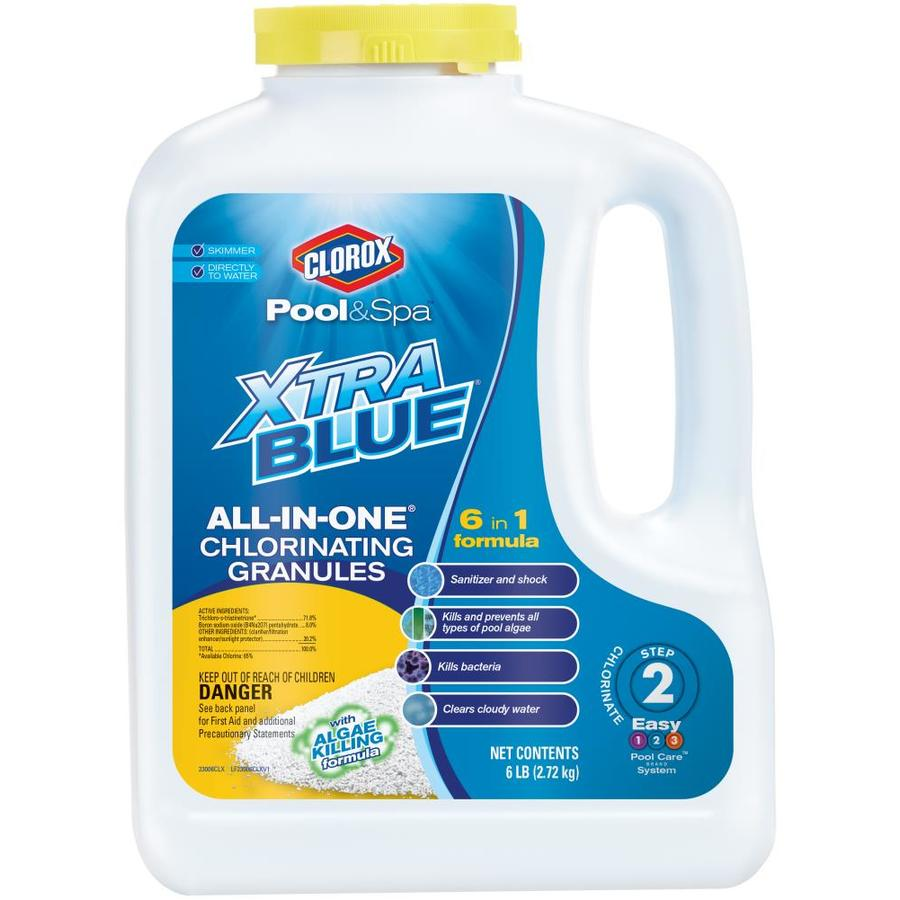 Clorox Pool&Spa XtraBlue All-in-One 6-lb Granular Pool Chlorine