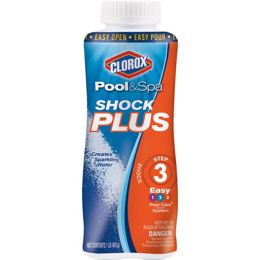 Clorox Pool&Spa Shock Plus 16-oz Pool Shock