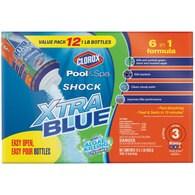 Clorox Pool&Spa 12-Pack Shock XtraBlue 16 oz. Pool Shock Deals